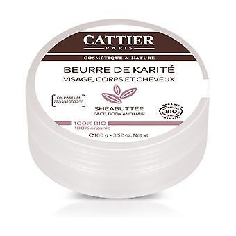 100% Organic Shea Butter 100 g of cream