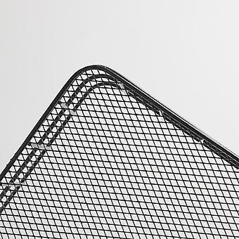 24.5x16x5.8cm Aufbewahrungskörbe Schwarz
