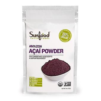 Sunfood, Amazon Acai Powder, 4 oz (113 g)