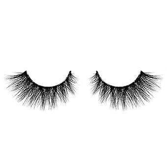 Velour Multi Layered False Mink Eyelashes - See Through - Natural Length