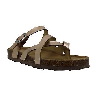 Madden Girl Womens Bartlet Open Toe Beach Slide Sandals