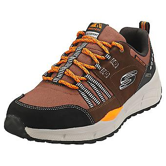 Skechers Equalizer 4.0 Trail Mens Fashion Trainers in Brown Black