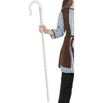 Extendable Shepherd's Staff Christmas Nativity Fancy Dress Costume Accessory