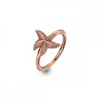 Hot Diamonds Eternal Love Ring Rose Gold Plate DR212