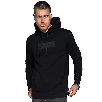 Raith | Appliqué Box Logo Overhead Hood Top - Black