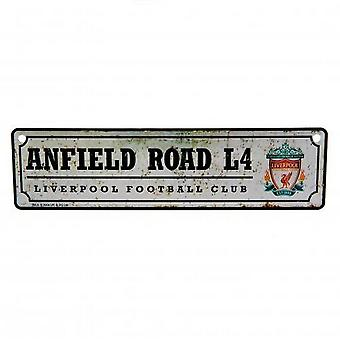Liverpool FC Retro Window Sign