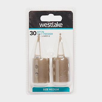 Νέα Westlake 30G Dw ανοιχτό ς τελέβυστος τροφοδότης 2 Pk καφετής