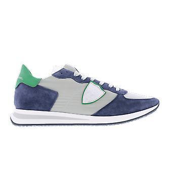 Philippe Model Tropez X Blue TZLU3W038 shoe