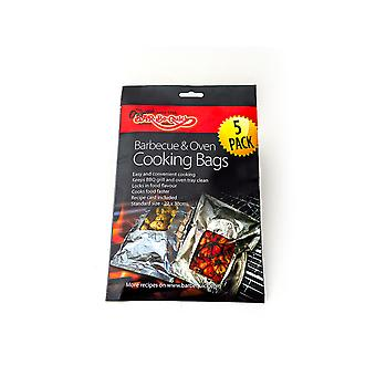 Home Hardware Outdoor Bar-Be-Quick Foil Cooking Bags x 5 FOIL0038