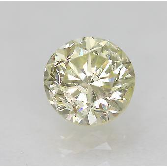 Zertifiziert 0.54 Karat J SI1 Runde Brilliant Enhanced Natural Loose Diamond 4.89mm