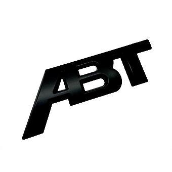 Matt Black VW ABT taka boot rintanappi tunnus Volkswagen