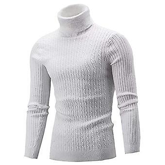 Mænd's Sexy Slim Fit Turtleneck Sweater