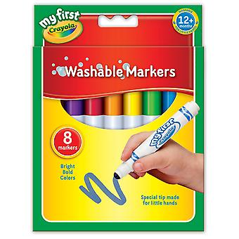 Crayola my first washable markers, pack of 8 my first markers
