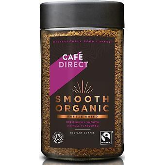 Cafedirect Fairtrade (FCF1007) Café instantané lisse biologique 6 x 100g
