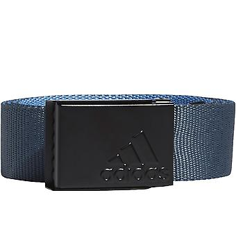 adidas Performance Mens Reversible Webbing Sports Golf Belt Legacy Blue One Size