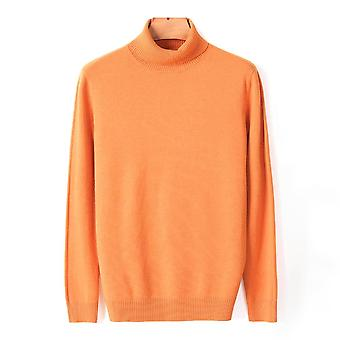 Autumn, Winter, Men's Warm Turtleneck Sweater, Comfortable, Thick