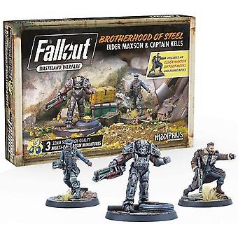 Fallout Wasteland Warfare Brotherhood of Steel Äldste Maxon & Kapten Kells