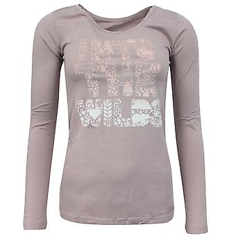 Timberland Earthkeepers Femme à manches longues T Shirt Saumon Rose 3905J 221