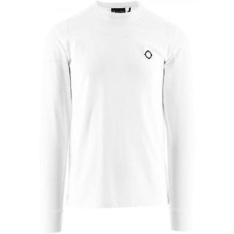 MA.STRUM White Long Sleeve Icon T-Shirt