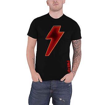 AC/DC T Shirt PWR UP Power up Bolt Band Logo nouveau Official Mens Black
