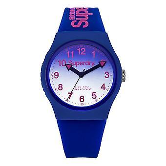 Superdry Urban Laser Watch - Blue