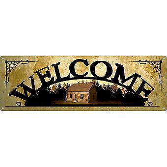 Grindstore Placa de boas-vindas casa