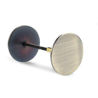 Coperchio foro porta in acciaio inossidabile -riempitivo piastra