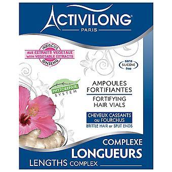 Activilong Lengths Complex – Befestigung Haarfläschchen 4 x 10 ml - 4 x 0,4 fl.oz.