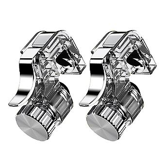 2pcs Mobile Phone Game Fire Button - Metal Trigger L1 R1 Shooter For Iphone