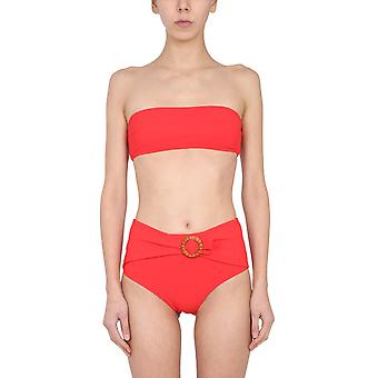 Zimmermann 9969wridscl Women's Red Polyester Bikini
