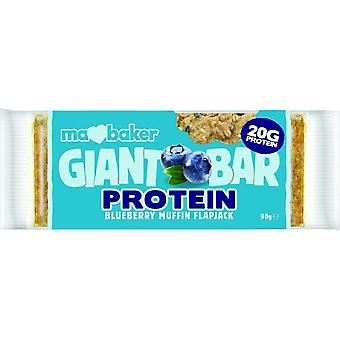 Ma Baker GB Protein BLUEBERRY MUFFIN Flapjack 90gx20