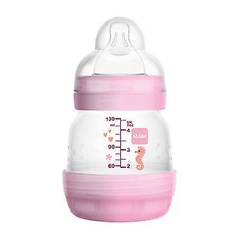 Mam easy start anti-colic bottle pink 130ml