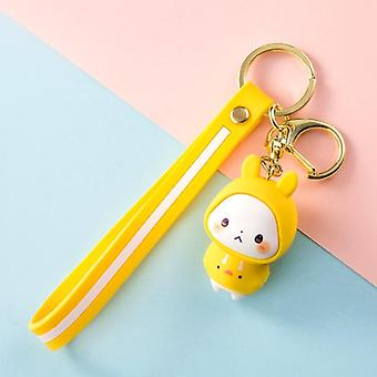 Cute Rabbit Doll Keychain