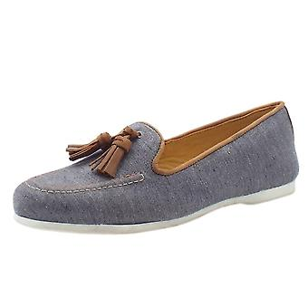Chatham Eclipse Classic Slip On Loafer In Navy