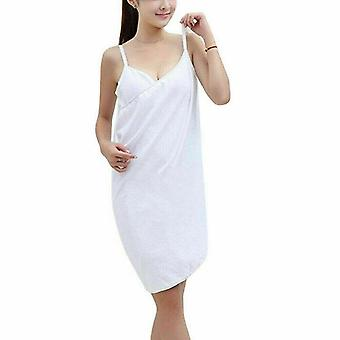 Home Bathroom Towel Microfiber Soft Bathrobes Beach Spa Sauna Dress Body Wrap