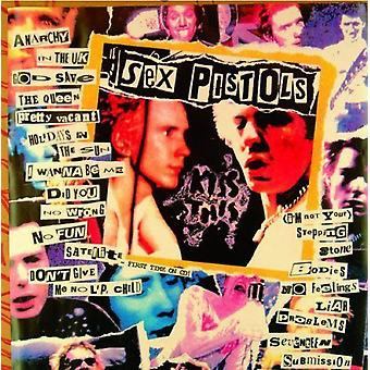 Sex Pistols kiss this logo new Official any occasion Greeting Card