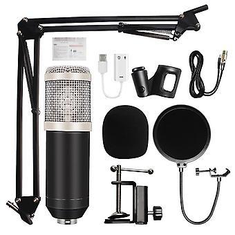 Microfono a condensatore microfono 3.5mm Cablato Bm-800 Karaoke Bm800 Microfono di registrazione