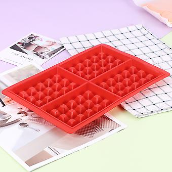 Kitchen Waffle Mold Silicone Waffle Bakeware Non-stick Cake Mould Makers