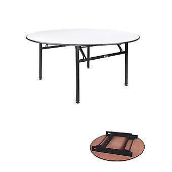 Sammenleggbar rund bankettbord