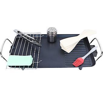 Plato caliente de parrilla eléctrica grill grill