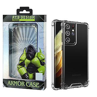 Samsung S21 Ultra Case Transparent - Anti-Shock