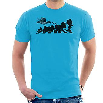 The Magic Roundabout Personages Silhouette Men's T-Shirt