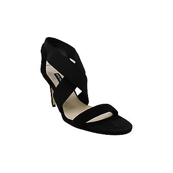 Nine West Womens Maya Leather Open Toe Casual Strappy Sandals