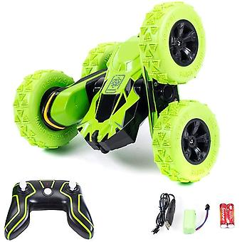 DZK Racing 948990 4WD RC Stunt Car-2.4Ghz 360 Flip Remote Control Truck Toy for 6-12 Years Old Kids