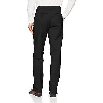 LEE Men's Performance Series Extreme Comfort Pant, Black,, Black, Size 32W x 34L