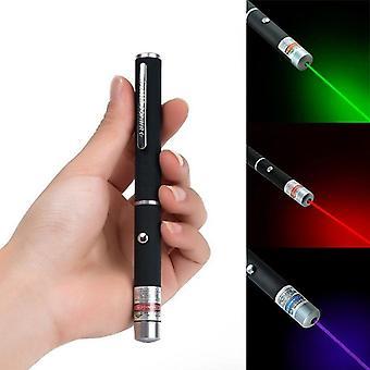 1pcs 5mw High Power Lazer Pointer 650nm 532nm 405nm rot blau grün Laser Sicht