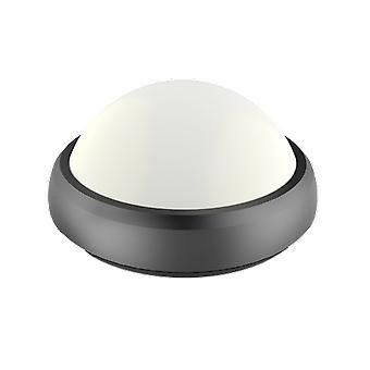 V-tac VT-8015 Lámpara de techo redonda - negro - 12W - 840Lm - 3000K