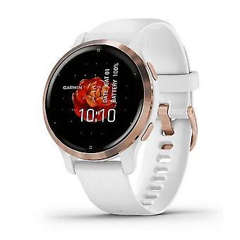 Garmin fitness watch Venu®2S White/Rosegold with Sillikon bracelet 010-02429-13