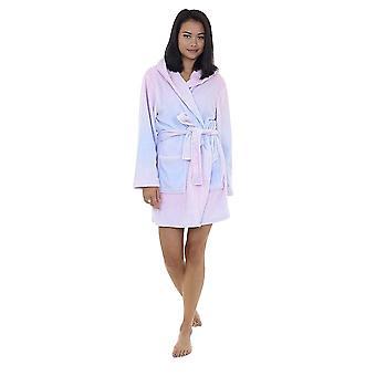 Brave Soul Ladies/Womens Unicorn Robe de chambre à capuchon