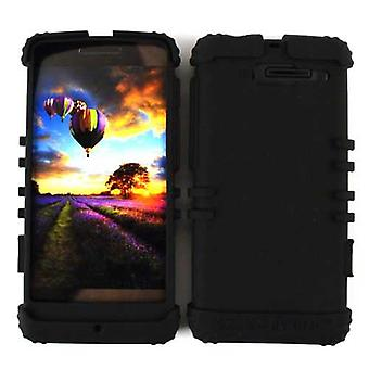 Unlimited Cellular Rocker Series Skin Case for Motorola DROID RAZR M XT907 (Blac